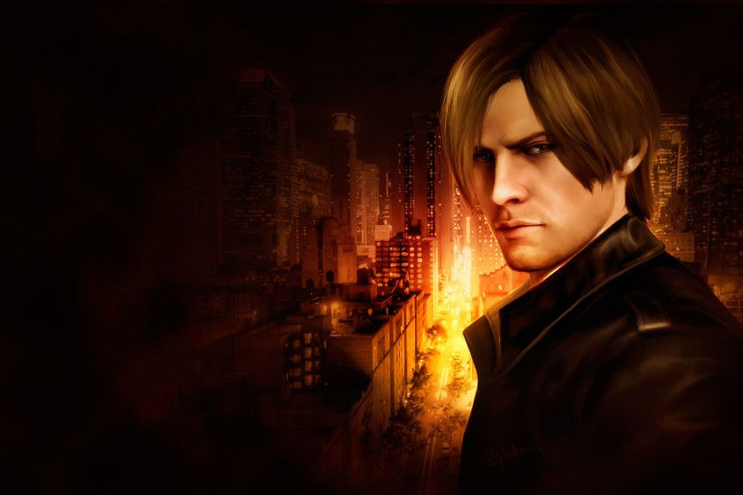 Leon Kennedy. Show me the way by push-pulse on DeviantArt