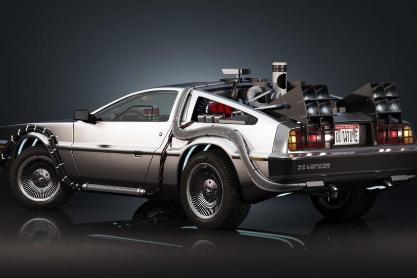 Back To The Future DeLorean Doctor · HD Wallpaper | Background ID:213449