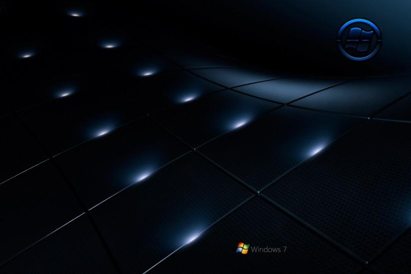windows 7 black wallpaper by kubines customization wallpaper mac pc os .