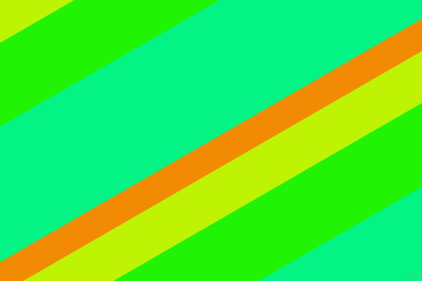 wallpaper streaks yellow stripes green turquoise lines orange #f38a04  #bff304 #21f304 #04f385