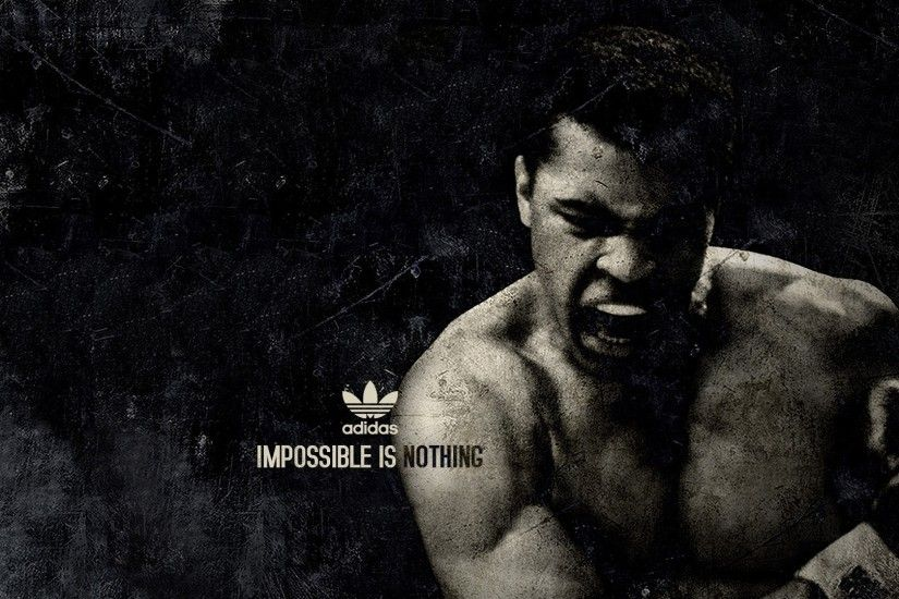 Preview wallpaper muhammad ali, boxer, sports, adidas 1920x1080