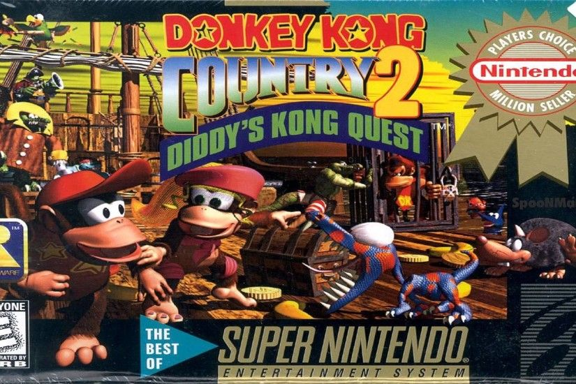 Donkey Kong Country 2 (us)