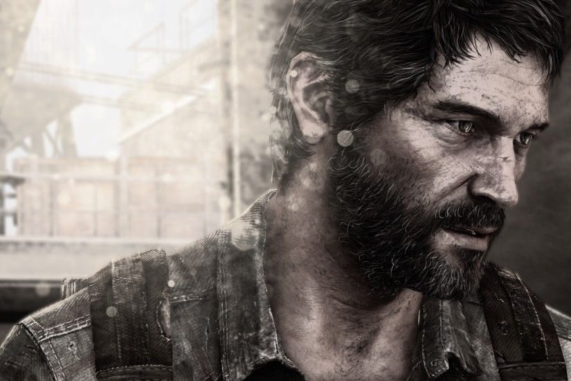 Joel The Last of Us Remastered PS4 Horror Game 2014 HD Wallpaper