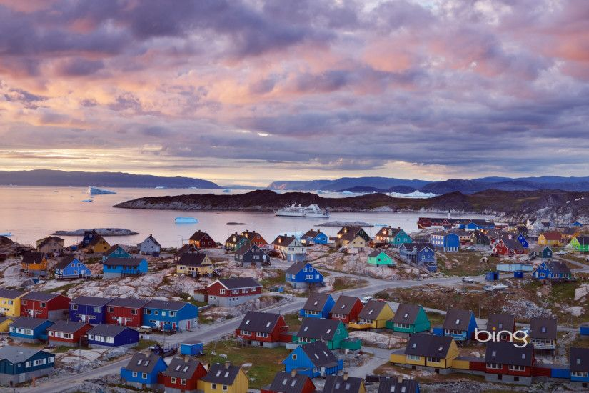 Town Of Ilulissat Bing Best Wallpaper