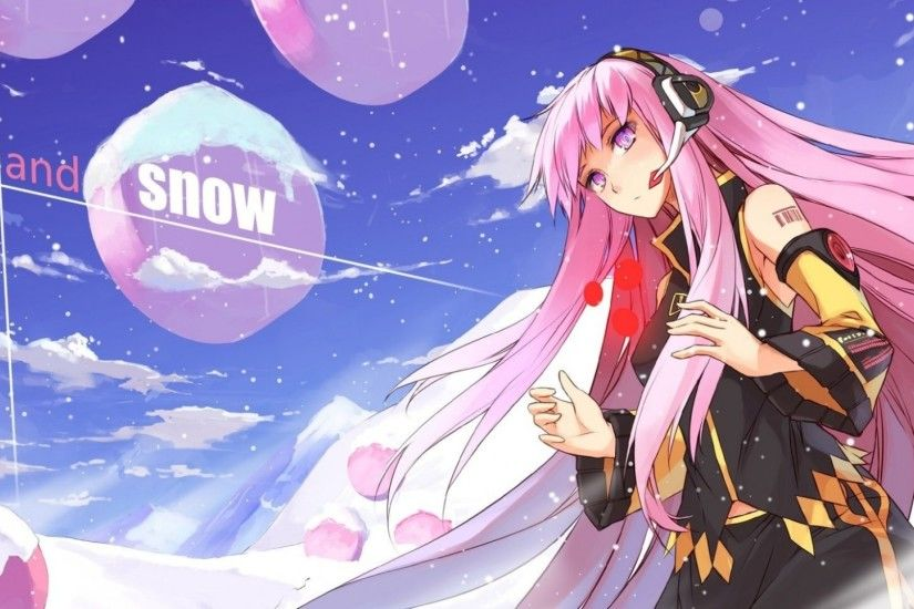 1920x1080 Wallpaper vocaloid, megurine luka, magician, art