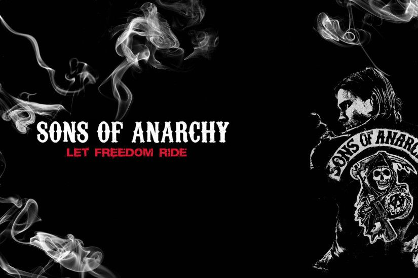 sons-of-anarchy anarchy bikers motorcycles skulls dark wallpaper
