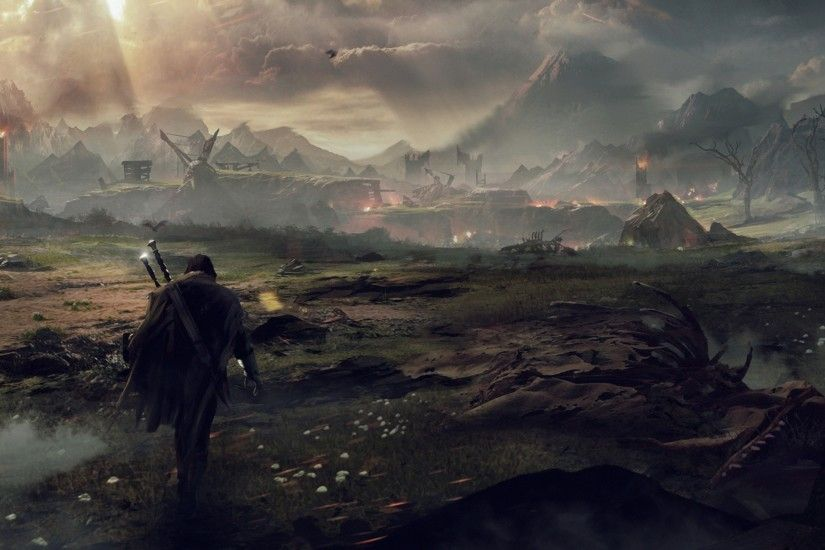 Preview wallpaper middle-earth shadow of mordor, the lord of the rings,  talion