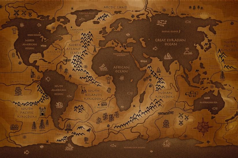 Background travel World map wallpaper high quality.
