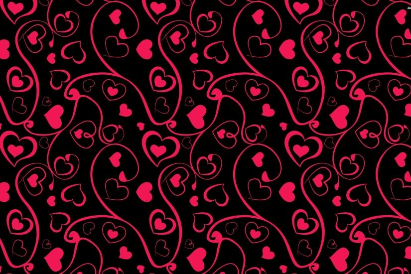 Heart And Swirl Pattern
