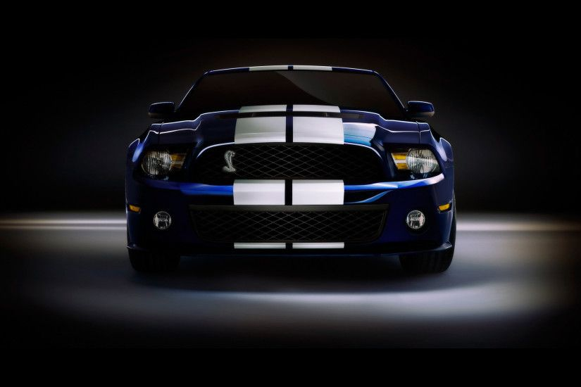 Bild: Ford Shelby GT500 Studio 2 wallpapers and stock photos. Â«