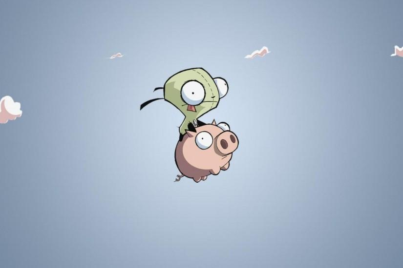 GIR and Pig - Invader ZIM wallpaper #4794