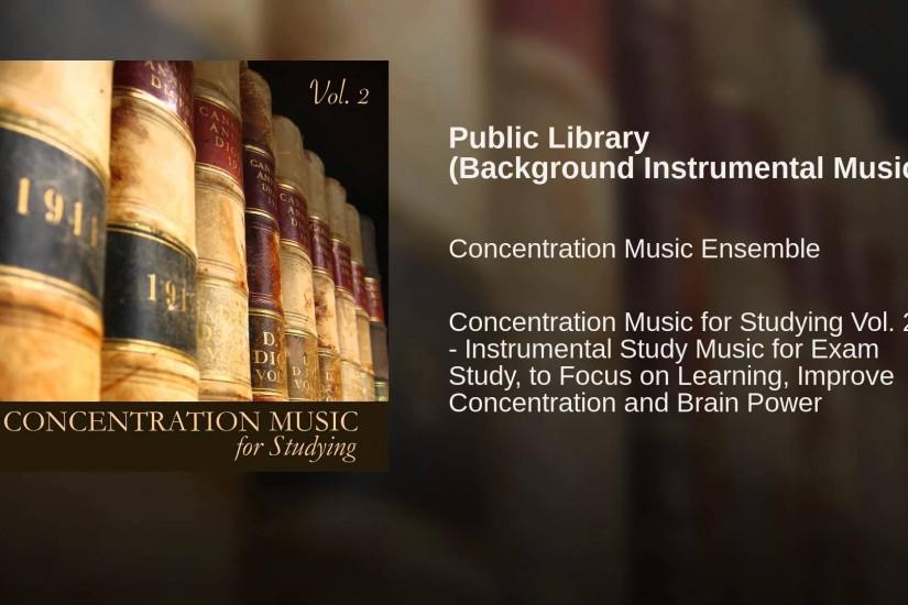 Public Library (Background Instrumental Music)