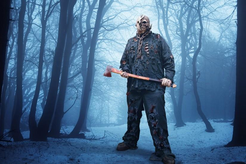 jason voorhees enjoying the snow by rubenvoorhees1 jason voorhees enjoying  the snow by rubenvoorhees1