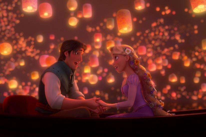 Wallpaper from Disney Tangled: The Video Game