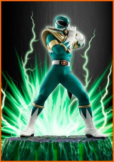 Figuarts Zero: MMPR Green Ranger | New Super Heroes Time