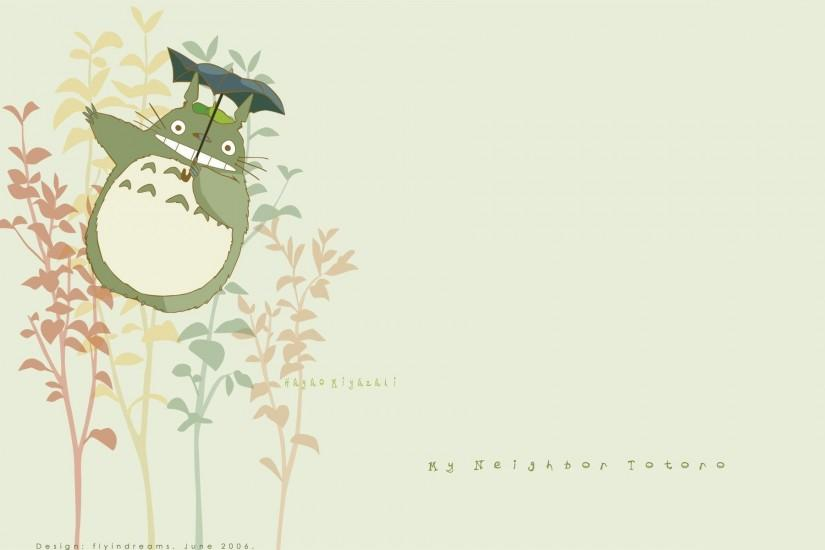 Download Neighbour Totoro Studio Ghibli Art Wallpaper 1920x1200 .