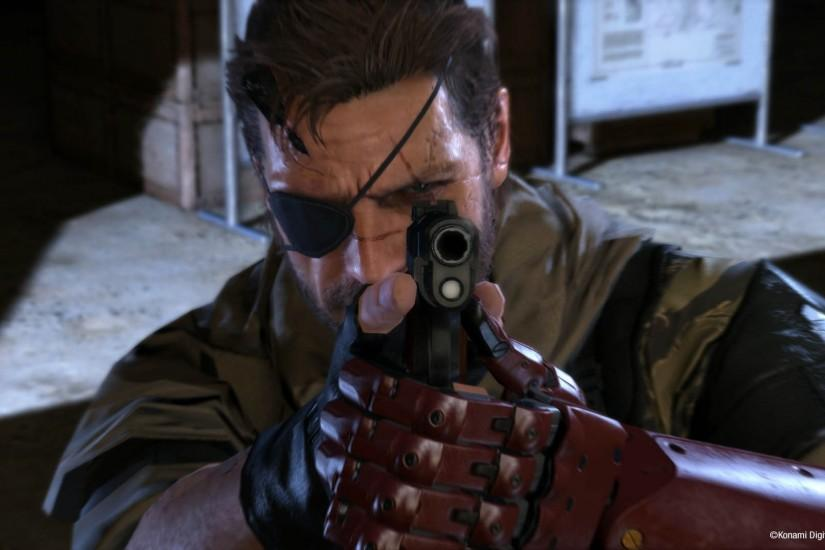 Big Boss in Action - Metal Gear Solid V: The Phantom Pain 1920x1080  wallpaper