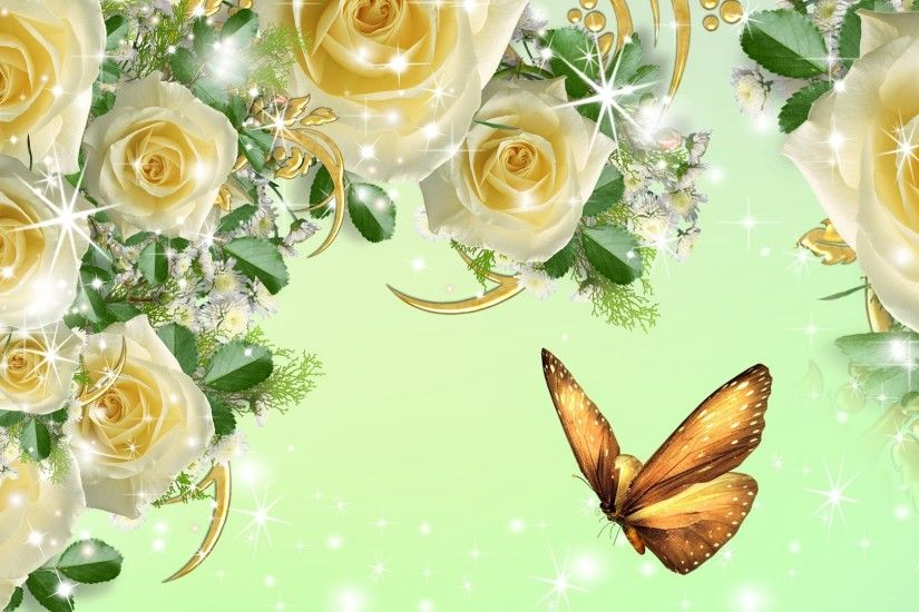 ... Yellow Roses Background Wallpapers Browse | HD Wallpapers .