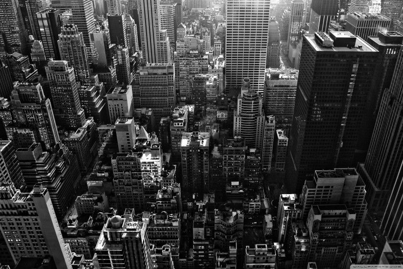 New York City Black And White Cool Wallpapers