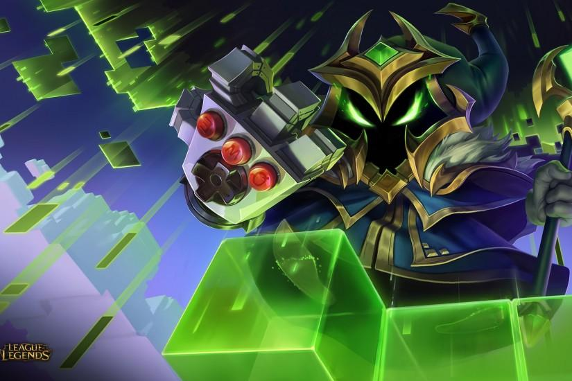 Arcade (Final Boss) Veigar Wallpaper