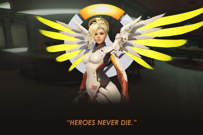 mercy wallpaper 1920x1080 for computer