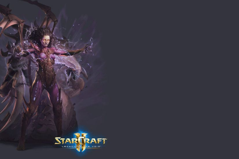 Sarah Kerrigan in StarCraft II: Legacy of the Void wallpaper
