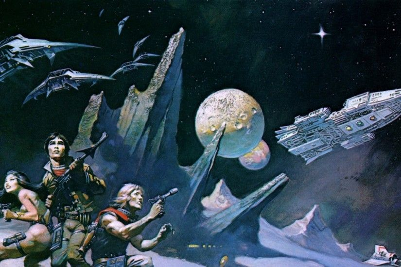 battlestar galactica frank frazetta 1300x1079 wallpaper Art HD Wallpaper