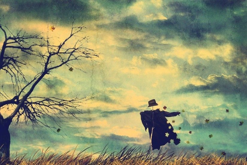 desktop wallpaper fall scenes scarecrows -#main