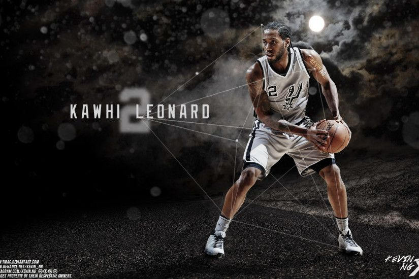 Kawhi Leonard San Antonio Spurs 2016 Wallpaper