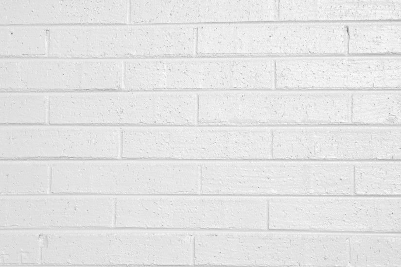 White Painted Brick Wall Texture Free High Resolution Photo