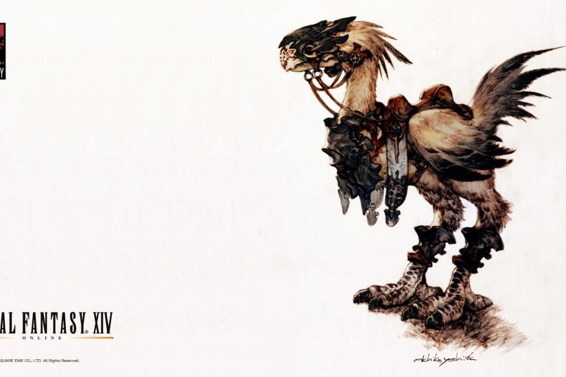 Image - FFXIV Wallpaper 1920x1080 Chocobo.jpg | Final Fantasy Wiki | Fandom  powered by Wikia
