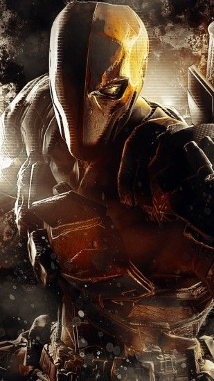 Preview wallpaper deathstroke, dc comics, batman, arkham origins 1080x1920
