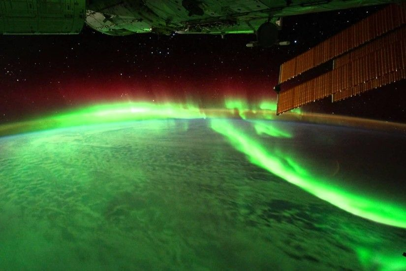 Northern Lights From International Space Station