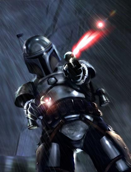 Mandalorian Warrior Wallpaper