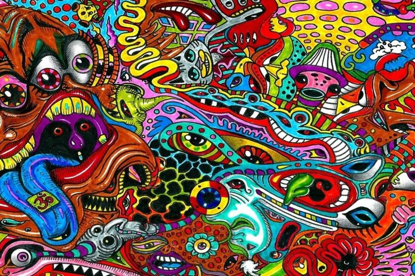 2560 x 1080px psychedelic wallpapers 1080p high quality by Whitcombe Cook