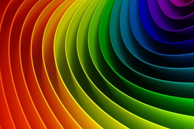 Abstract Rainbow picture