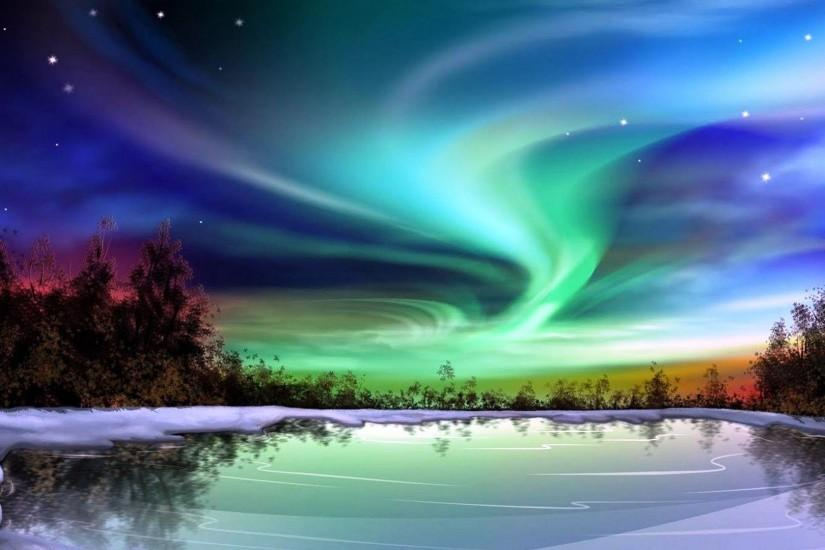 northern lights wallpaper 1920x1080 free download