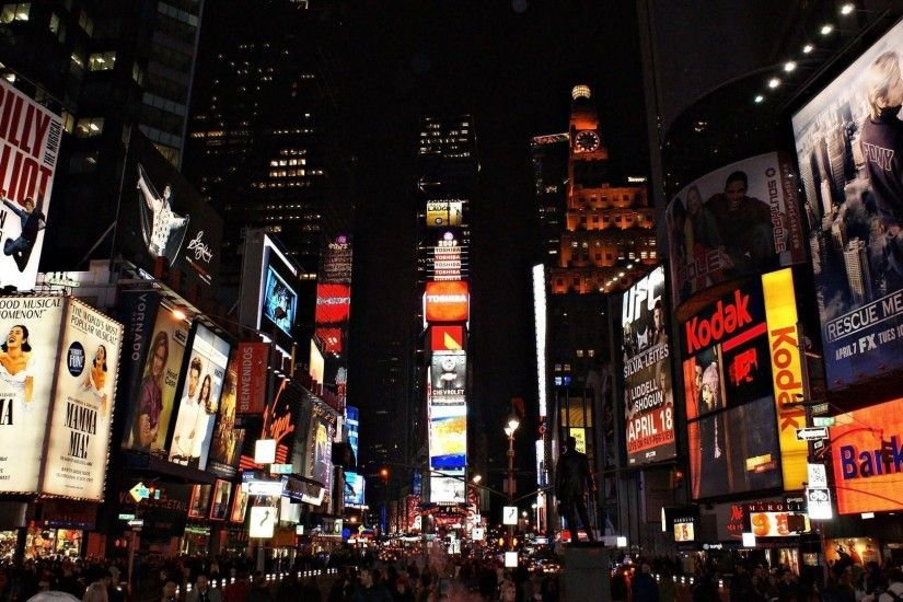 Times Square Wallpaper Hd Wallpaper | 4Wlp