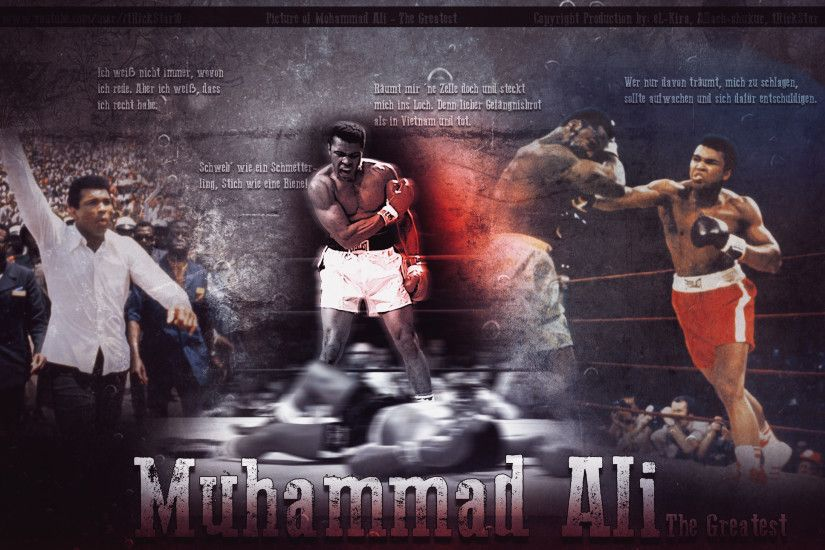 Muhammad Ali - I Will Never Die 2013 HD Wallpaper by eL-Kira on .