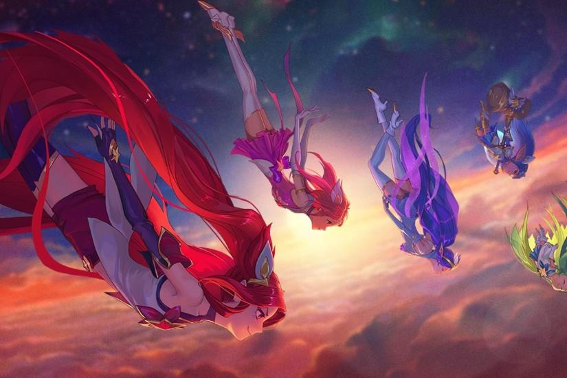 Star Guardian Artwork Wallpapers