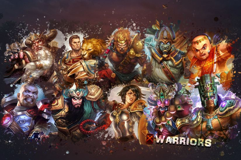 Video Game - Smite Video Game Warrior Wallpaper