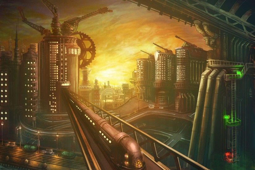 270 Steampunk Wallpapers | Steampunk Backgrounds Page 4