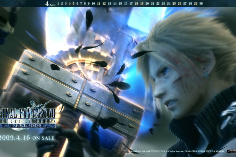 ... wallpapers from Final Fantasy VII: Advent Children Complete. Here they  are: wallpaper0904_ff7acc1_04. wallpaper0904_ff7acc2_04