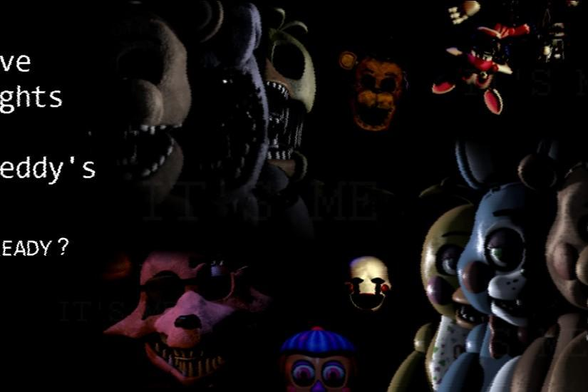 large five nights at freddys wallpaper 1920x1080 720p