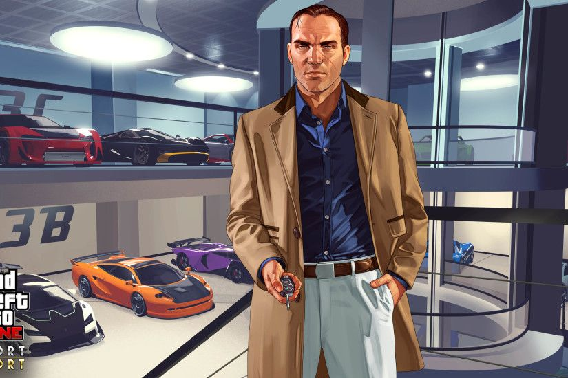 Import Export - GTA 5 Online Update DLC 3840x2160 wallpaper