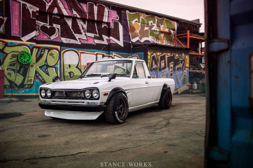 "StanceWorks Wallpaper – Dominic Le's Hakotora ""Skyline Pickup"""