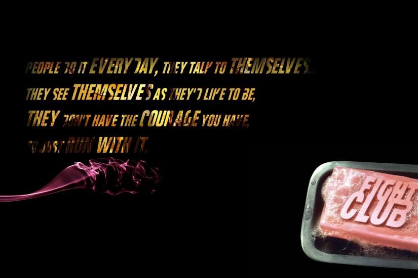 quotes fight club soap tyler durden HD Wallpaper - Movies & TV .
