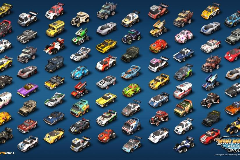 Mini Motor Racing EVO game video android ios mac pc arcade racing