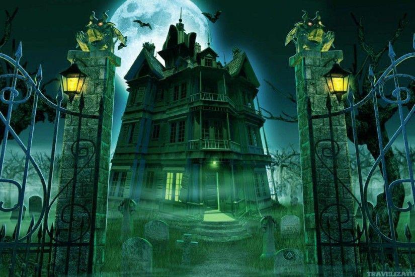 Creepy Halloween Wallpaper ·①