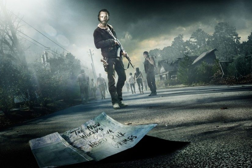 HD Wallpaper | Background ID:565053. 2880x1800 TV Show The Walking Dead